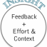 Thumbnail image for Making sense of  feedback requires both effort and context