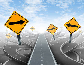 Crazy directions - Image source: Shutterstock.com